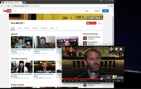Youtube Flotante
