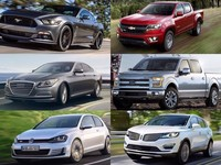 Finalistas del 2015 North American Car & Truck of the Year