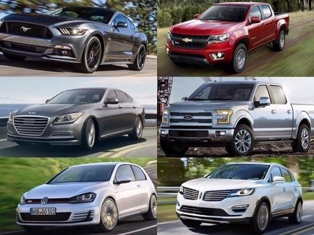 Finalistas del 2015 North American Car & Truck of the Year
