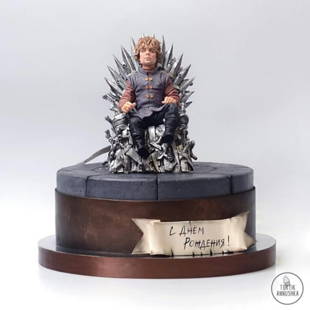 Juego de Tronos. Trono de Hierro y Tyrion