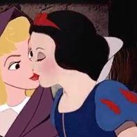 @harleivy ha confrontado a las princesas Disney con la homosexualidad y el resultado es de película