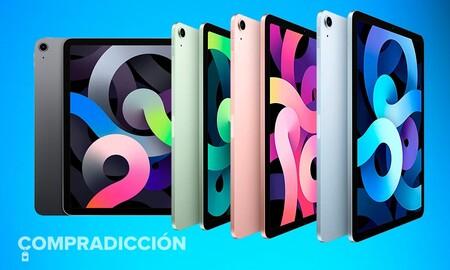 """El iPad Air tiene su precio más """"ligero"""" hasta la fecha en El Corte Inglés: estrena la tableta de Apple por 70 euros menos"""