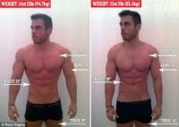 Perdió 11 kilos en 24 horas