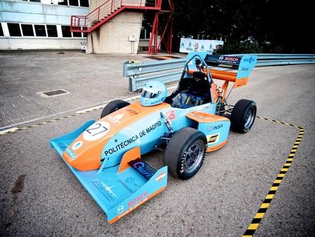 Con un motor Yamaha de 80 CV. Así es el monoplaza Formula Student 2017 de UPM Racing para Silverstone