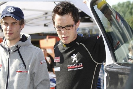 Thierry Neuville correrá diez rallyes del WRC con Citroën
