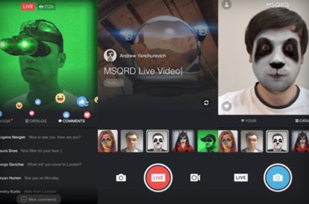 Facebook Live tendrá filtros similares a los de Snapchat