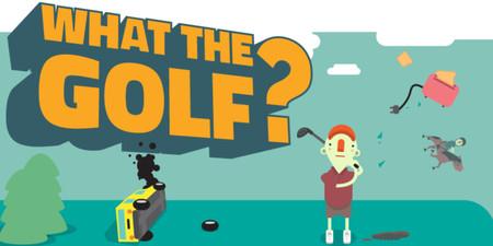 What the golf? Un juego de Apple Arcade que parodia el golf con las leyes de la física