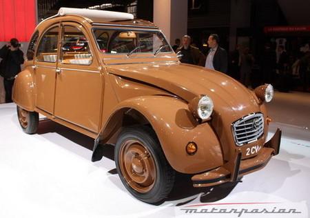 Citroën en el Salón de París: un guiño al pasado