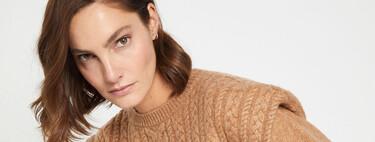 Cortefiel tiene en rebajas los jerséis de tendencia más calentitos para lucir los días de más frío