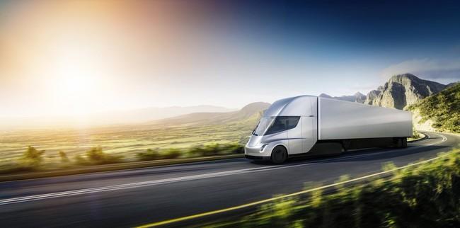 Tesla Semi Exterior