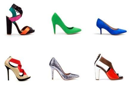 zapatos zara colores