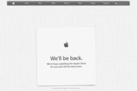 Apple store cerrada, en breves podremos empezar a reservar el iPad mini y el nuevo iPad
