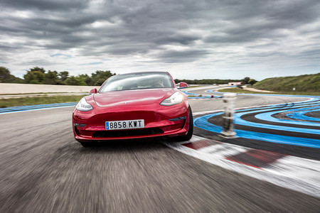 Prueba Tesla Model 3 Performance Track Mode 160