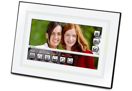 Marcos de fotos de Kodak con controles táctiles
