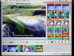 Datos atmosféricos con Google Earth