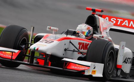 Dani Juncadella Post 2012 GP2