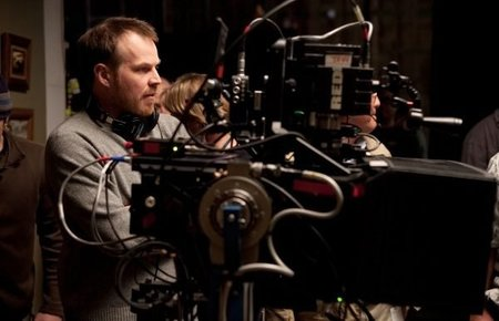 Marc Webb durante el rodaje de una escena de The Amazing Spider-Man