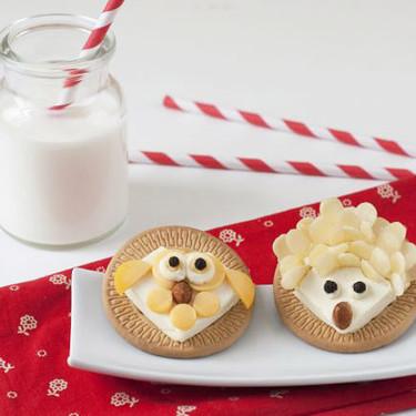 Animalitos de quesito: receta fácil para hacer con niños