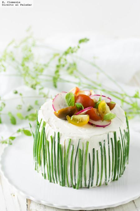 Apúntate a la moda del pastel salado más trendy: receta de Sándwich Cake