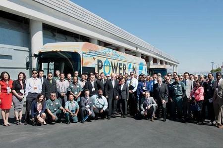 Entra en circulación en California el primer autobús de BYD fabricado en los Estados Unidos
