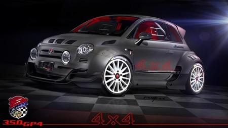 Giannini 350 GP4: traccion total y 350 CV para este brutal Fiat 500