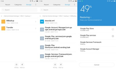 Instalar Google Play Xiaomi