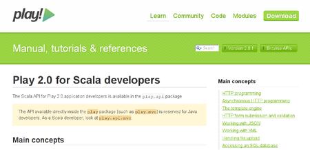 Introducción: Play Framework 2 (Parte I: Scala)