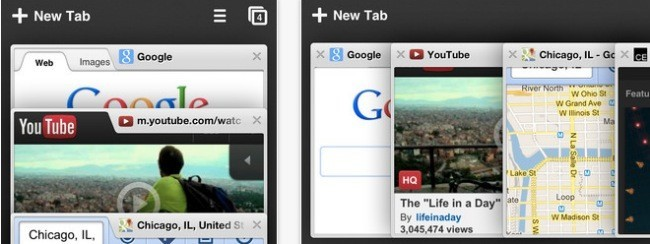Chrome en iOS