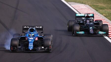 Alonso Hamilton Hungria F1 2021