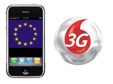 ¿iPhone para Europa con 3G y de Vodafone?