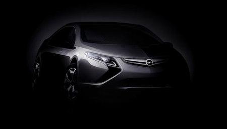 Opel Ampera, otro eléctrico que debutará en el Salón de Ginebra
