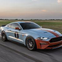 El Ford Mustang Gulf Heritage Edition se destapa oficialmente antes de Pebble Beach