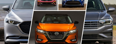 Nissan Sentra 2020 vs. sus rivales: comparamos cada versión contra un modelo distinto en México