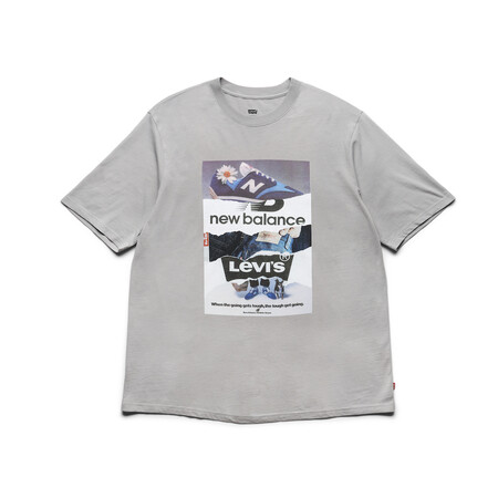 Levi S X New Balance Graphic T Shirt Front