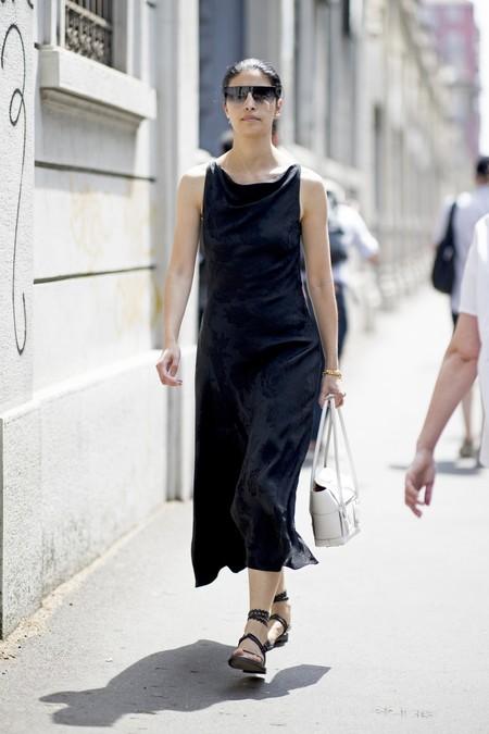 Combinar Vestido Negro Verano