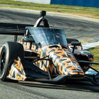 La Indycar ya prueba el aeroscreen, la pantalla de seguridad que en su día descartó la Fórmula 1