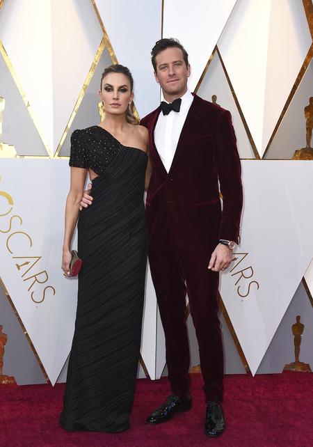 Oscars 2018 Elizabeth Chambers Armie Hammer