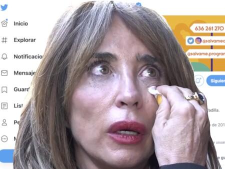 Este es el escabroso tweet sobre Belén Esteban que María Patiño ha marcado como 'favorito': La socialitera ha sufrido un ataque de ansiedad al descubrirlo