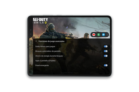 Samsung Galaxy Fold Gamebooster 02