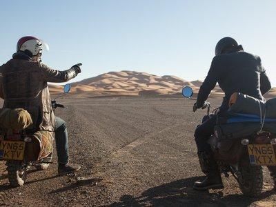 Monkey Run: 1.000 km por Marruecos en una moto enana, un nuevo amanecer del aventurismo