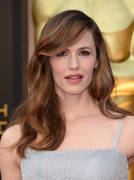 Jennifer Garner con un look flapper en los premios Oscar 2014