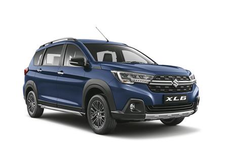El Suzuki XL6 es un Ertiga de espíritu campero y sólo para seis pasajeros