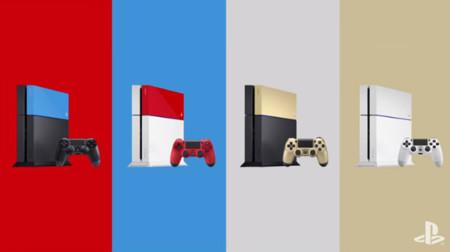 Pasa de sobriedades y dale un toque de color a tu PS4 con las nuevas carcasas y mandos de Sony