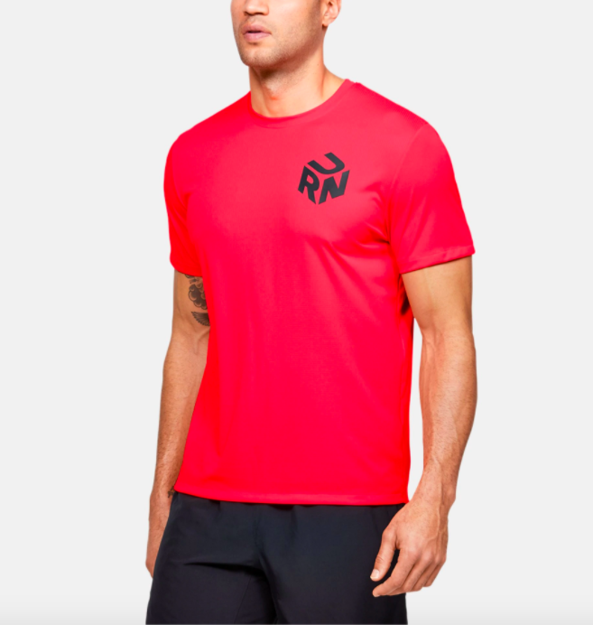 Camiseta para hombre Go Out & Run de Under Armour