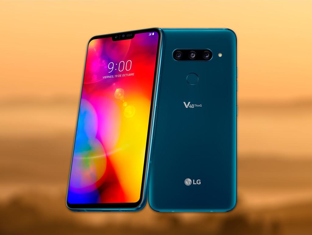 El LG V40 ThinQ llega oficialmente a España: éstos son los precios y disponibilidad del smartphone con 5 cámaras
