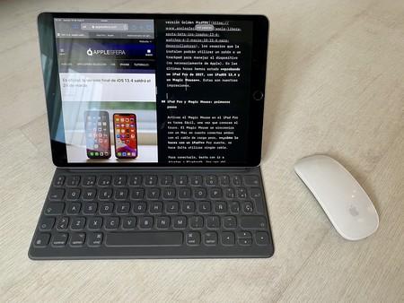 Cómo poner la tecla ESC (virtual) en un teclado físico de iPad que no la tiene