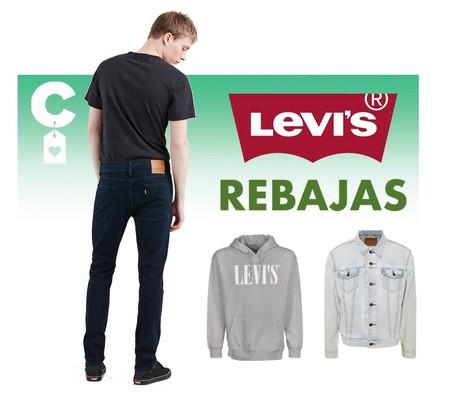 Mejores ofertas en las rebajas de Levi's con un 50% de descuento: vaqueros, pantalones cortos y camisetas desde sólo 12,50 euros