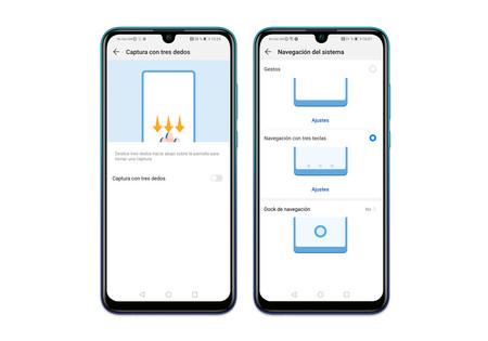Huawei P Smart 2019 Ajustes Pantalla Navgacion Gstos