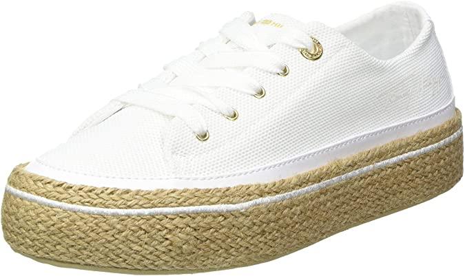 Tommy Hilfiger White Sunset Vulc Sneaker, Zapatillas Mujer