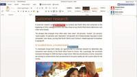 Las aplicaciones web de Office añaden edición colaborativa en tiempo real y otras novedades